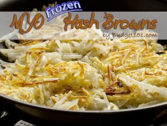 Homemade Frozen Hashbrowns