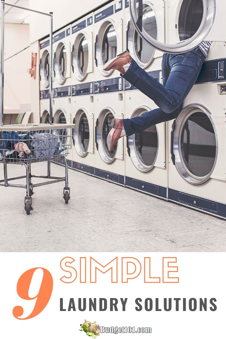 Simply Laundry Solutions to 9 common laundry problems #Budget101 #Laundry #MomProbs