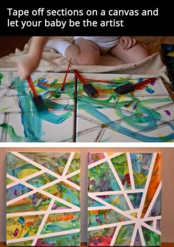 yes even your baby can be picasso