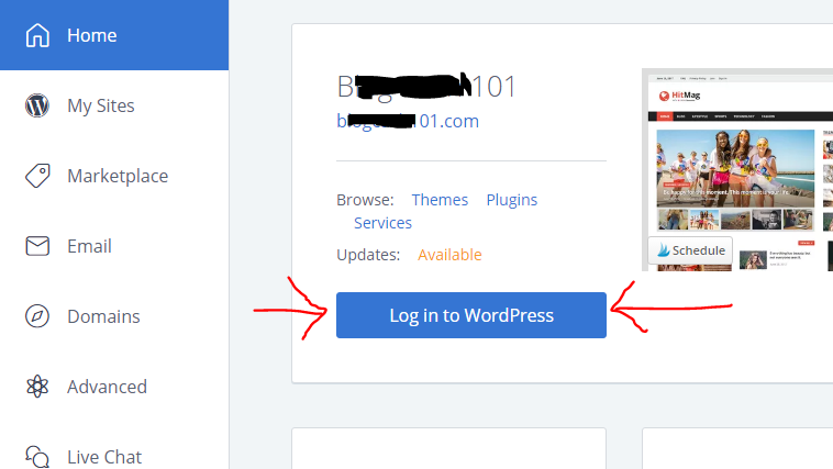 How to Start a Blog and Log in