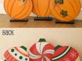 9 Awesome Double Duty Reversible Decorations for Fall and Winter
