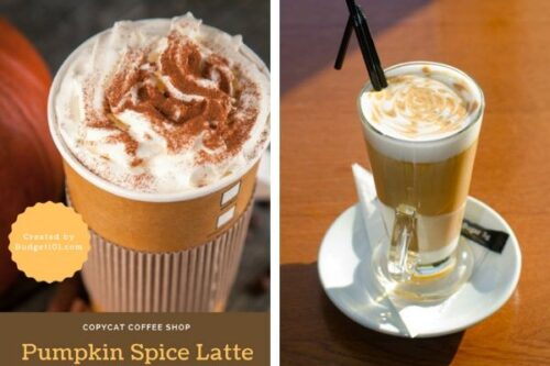 b101 Starbucks Pumpkin Spice Latte
