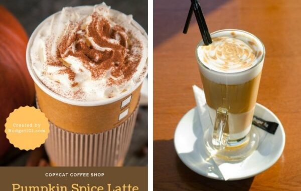 Copycat Starbucks Pumpkin Latte Copycat Recipes Starbucks