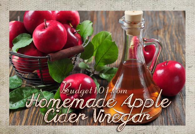 How to make Raw Apple Cider Vinegar at home! #Budget101 #vinegar