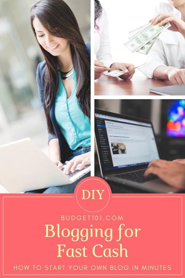 blogging-for-fast-cash
