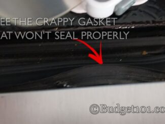 diy dirt cheap broken fridge freezer gasket remedy