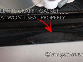 DIY Dirt Cheap Broken Fridge-Freezer Gasket Remedy