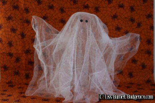 floating transparent ghost decor
