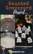 haunted graveyard dessert