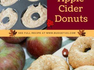 maple glazed apple cider donuts