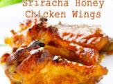 Sriracha Honey Chicken Wings