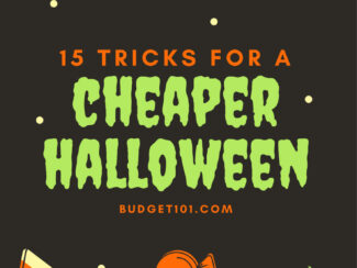 15 Tricks for a Cheaper Halloween