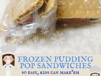 Pudding Pop Sandwiches