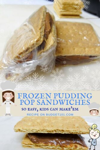 Pudding Pop Sandwiches