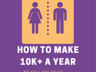 how to make 10k per year selling your