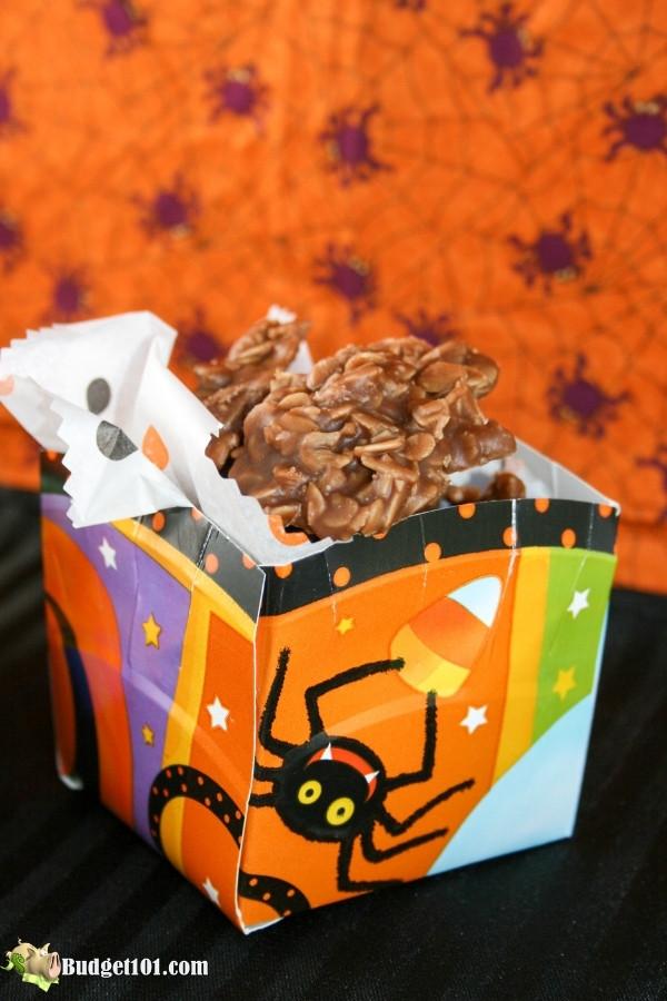 how to make a halloween treat basket 3