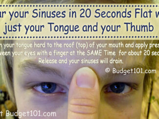 how to use pressure points to relieve sinus pressure instantly