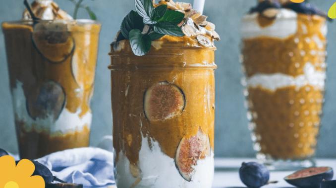pumpkin chia mousse