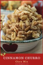 cinnamon caramel churro chex mix