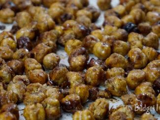 cinnamon maple crunchies