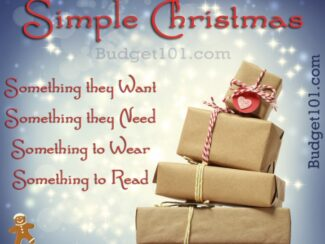 simplifying christmas