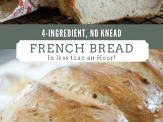 4 ingredient french bread