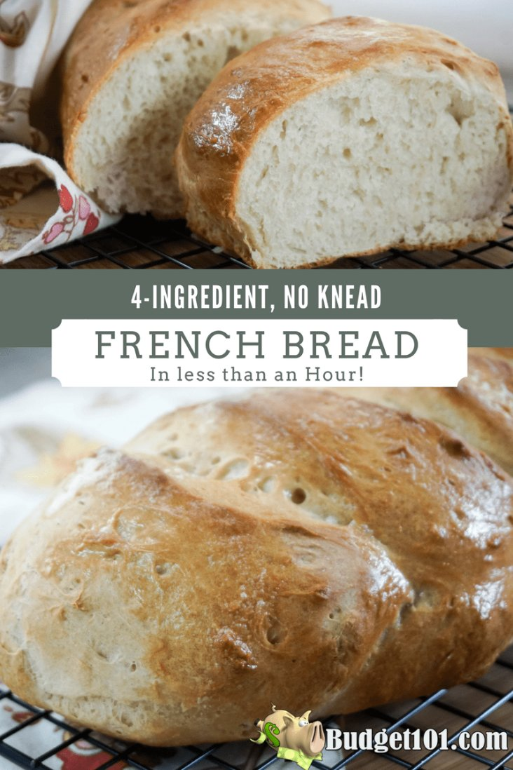 4-ingredient-french-bread
