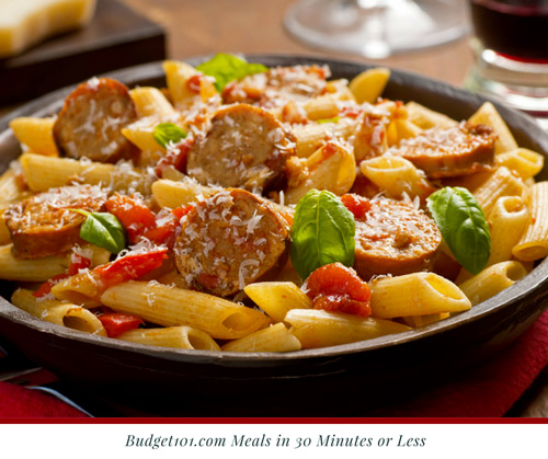 italian-sausage-penne