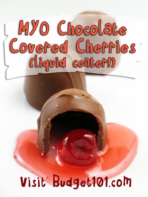 MYO Liquid Center Chocolate Covered Cherry Cordials