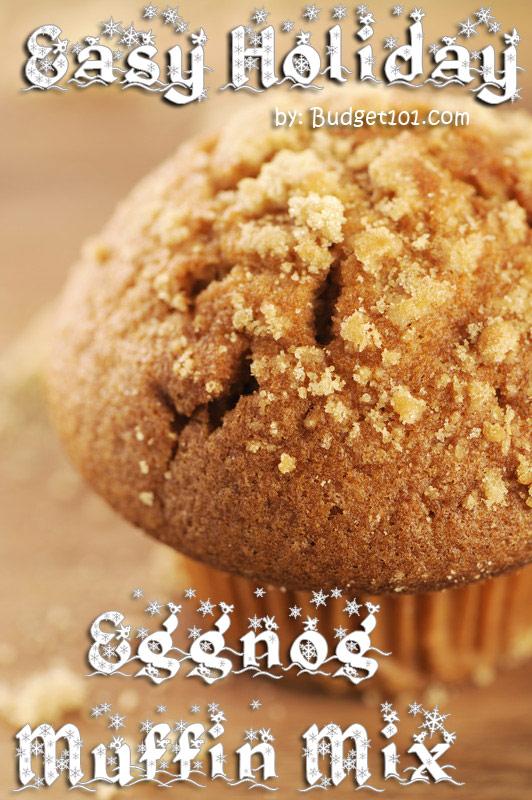 Budget101.com Eggnog Muffin Mix