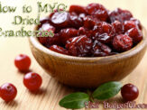 Dehydrating Cranberries – MYO Dried Cranberries