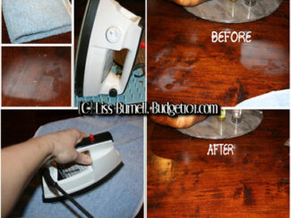 how to remove hot spots white marks from furniture