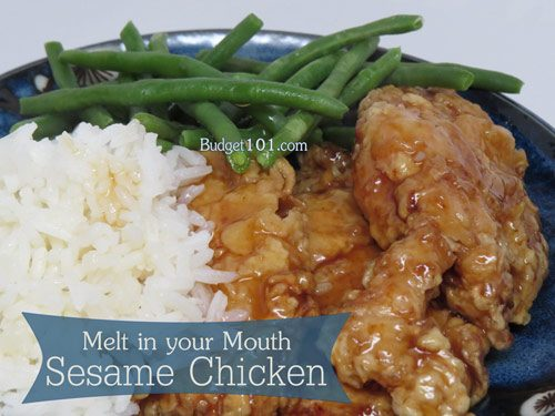 make your own sesame chicken