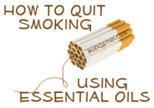 quit smoking with essential oils