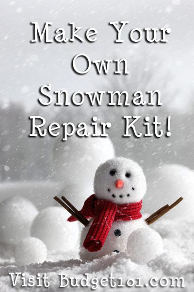 snowman repair kit
