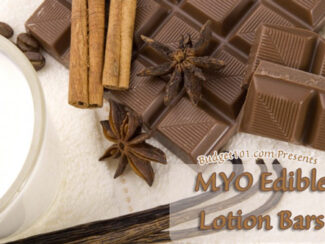 edible lotion bars