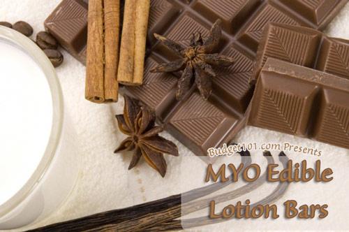 edible lotion bars