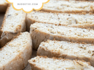 quickie almost italian almond biscotti