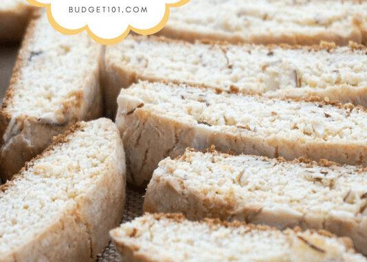 quickie almost italian almond biscotti