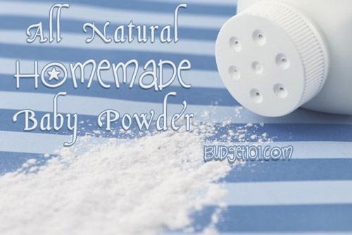 diy chamomile lavender baby powder