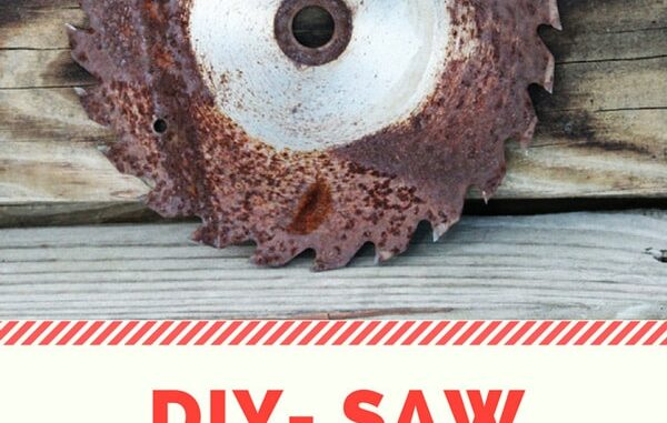 diy how to keep a saw blade sharp