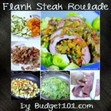 flank steak roulade