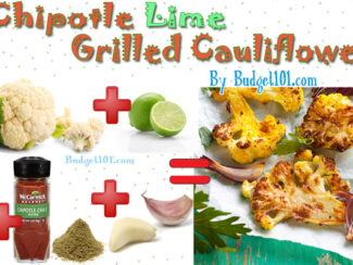 chipotle lime grilled cauliflower