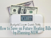 Planning Ahead to Save on Future Heating Bills
