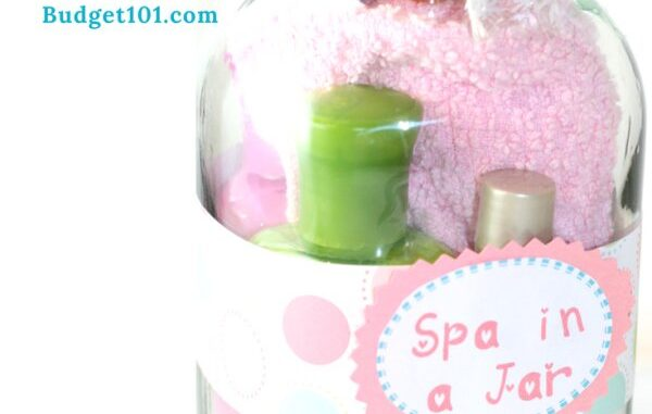 Spa In A Jar Gift In A Jar Ideas Anything In A Jar Gift Ideas Mothers Day Gift Ideas