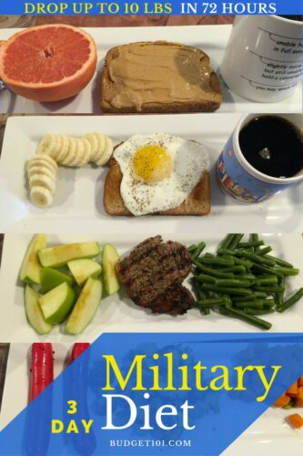 5ca007c7d47bb 3 day military diet drop 10lbs in 72 hours but does it work