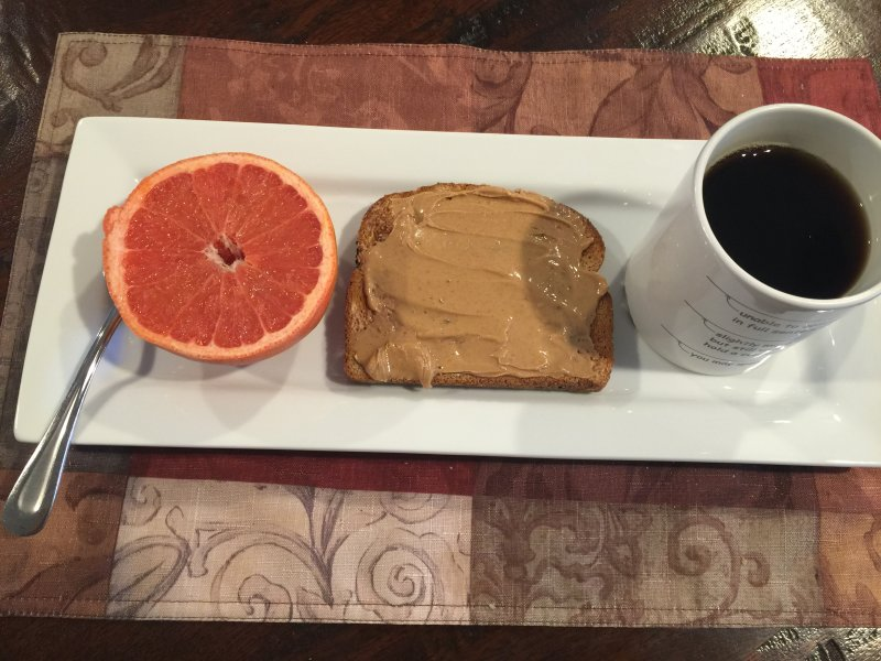 Military Diet Plan Day 1 Breakfast