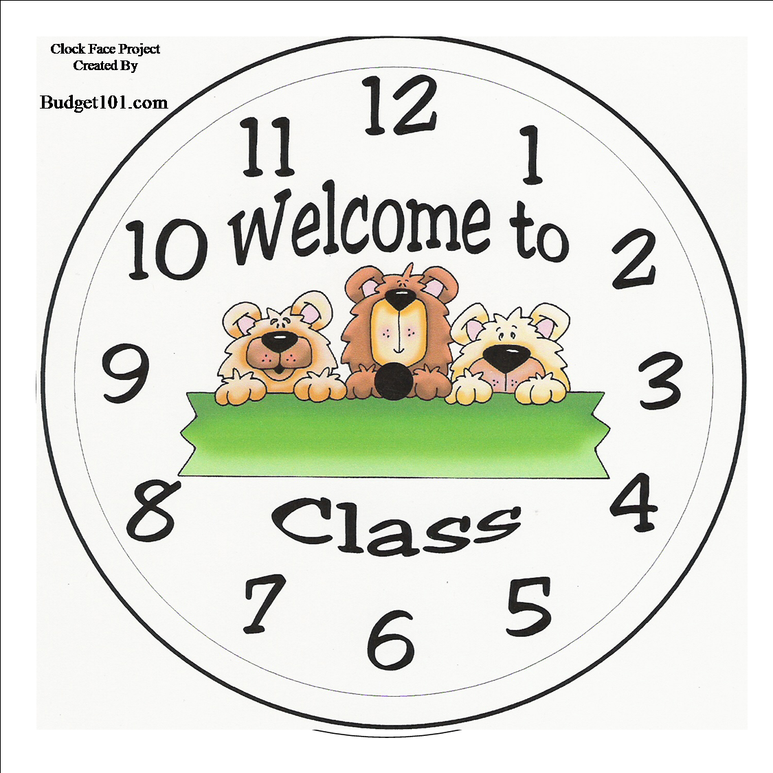 Make Your Own Personalized Clock