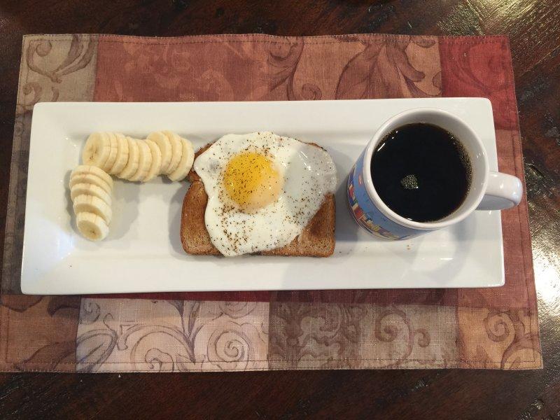 Military Diet Plan Day 2 Breakfast