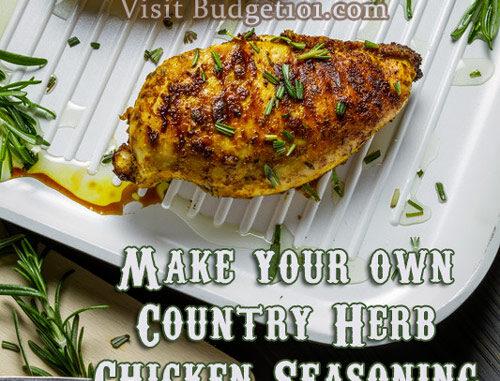 country herb chicken seasoning mix